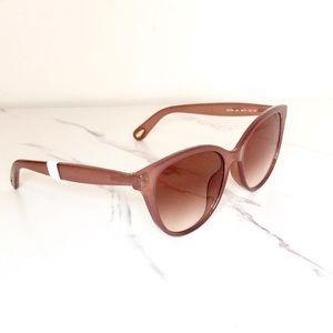 Chloe pink gold sunglasses